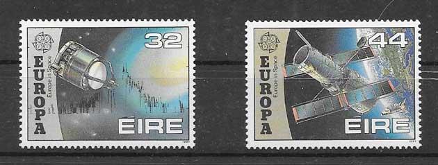 Sellos Tema Europa 1991