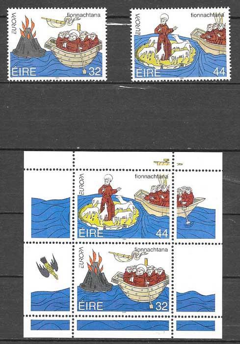 sellos Irlanda Tema Europa 1994