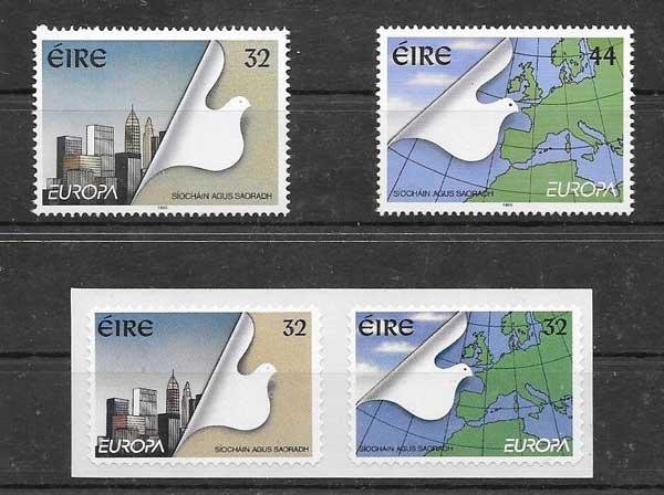 FilateliaTema Europa 1995