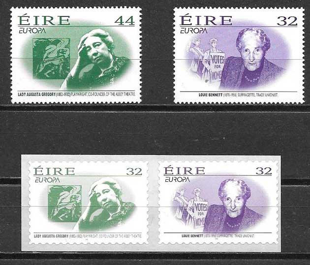 sellos Tema Europa Irlanda 1996