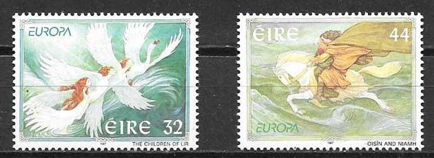 sellos Tema Europa Irlanda 1997