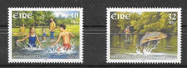 Sellos Tema Europa 2001