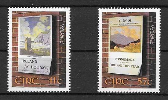 Colección sellos Tema Europa 2003