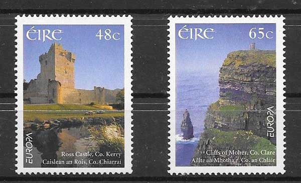 Filatelia Tema Europa Irlanda 2004
