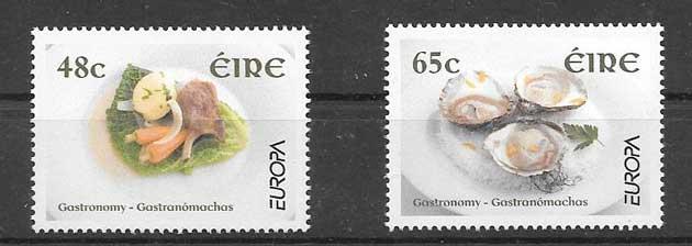 Sellos Tema Europa 2005