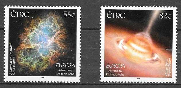 sellos colección Tema Europa 209