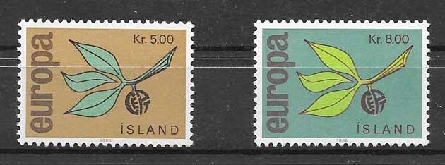 Sellos Tema Europa 1965