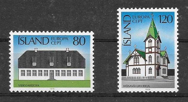 Estampillas colección Tema Europa 1978