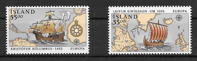 Filatelia colección Tema Europa 1992