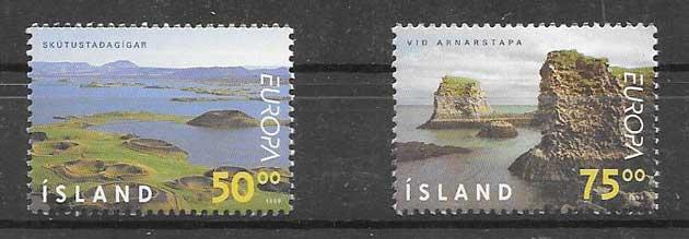 sellos Tema Europa 1999