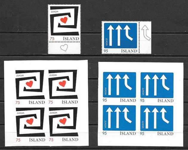 Colección sellos Islandia-2006-01