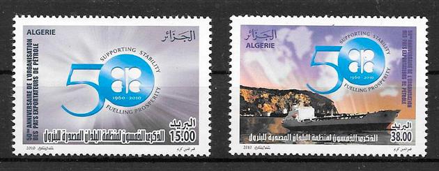 sellos transporte Argelia 2010
