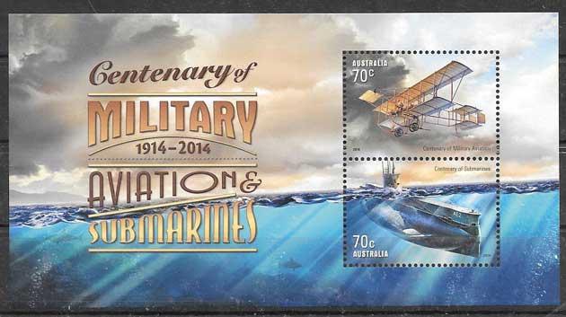 sellos colección transporte 2014