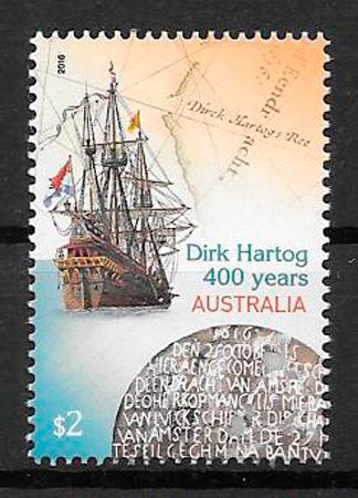 colección sellos transporte Australia 2016