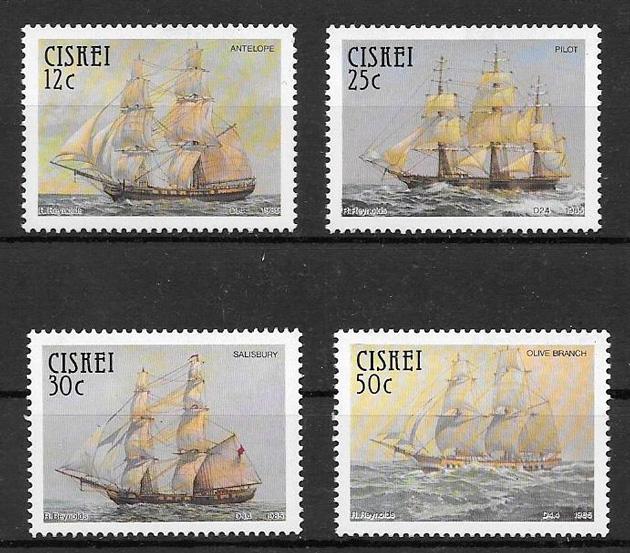 sellos transporte Ciskei 1985