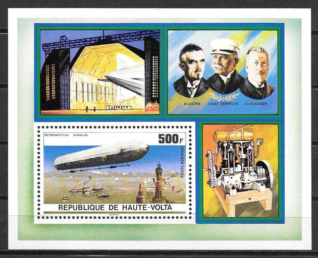 sellos transporte Alto Volta
