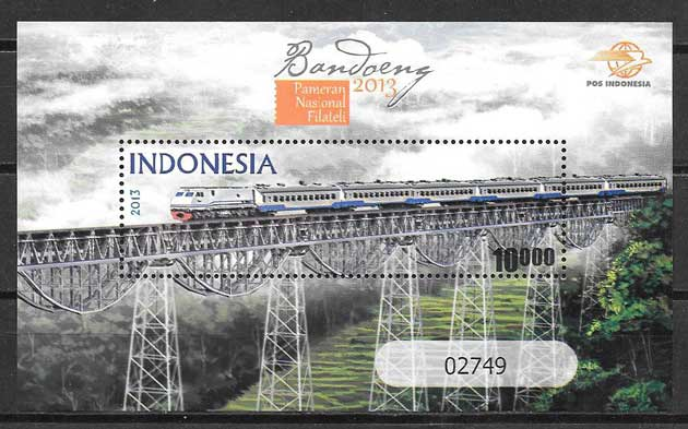 sellos transporte Indonesia 2013