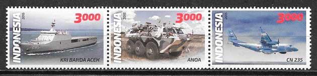 sellos transporte Indonesia 2015