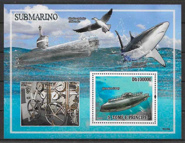 colección sellos Santo Tome y Príncipe 2009