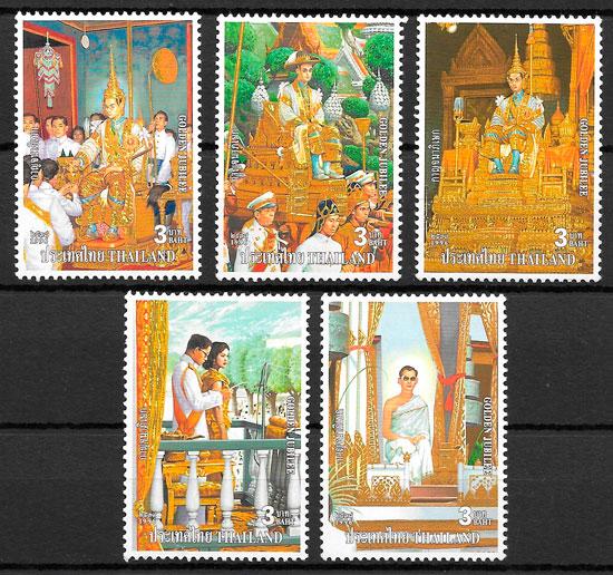 sellos personalidad Tailandia 1996