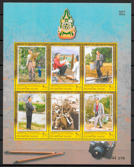 sellos personalidad Tailandia 2006