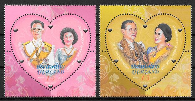 sellos personalidad Tailandia 2010