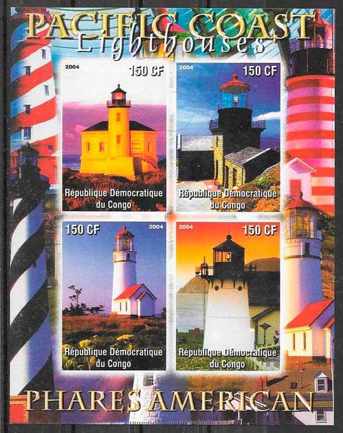 sellos faros Congo 2004