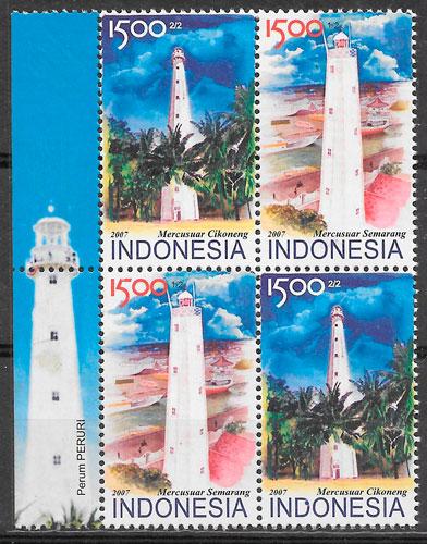sellos faros indonesia 2007