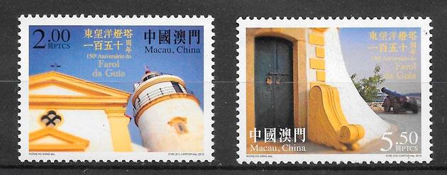sellos faros Macao 2015