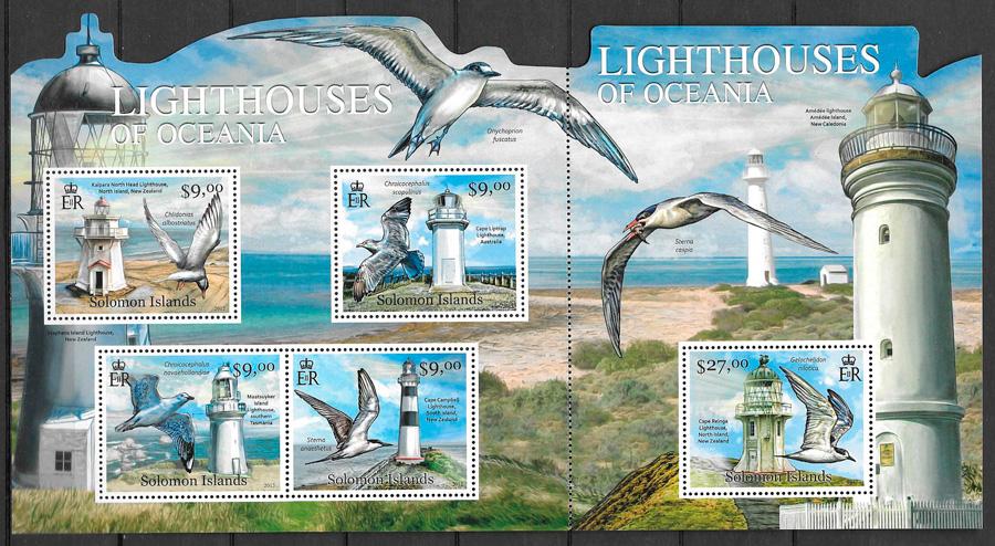 sellos faros Salomon Island 2012