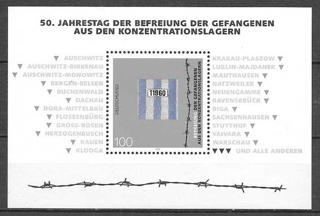 sellos colección Alemania 1995
