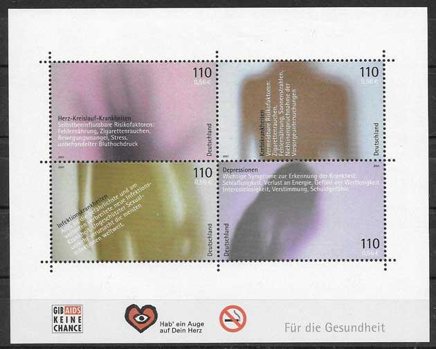 sellos salud Alemania 2001