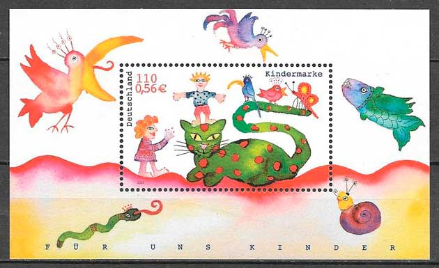 sellos temas varios Alemania 2001