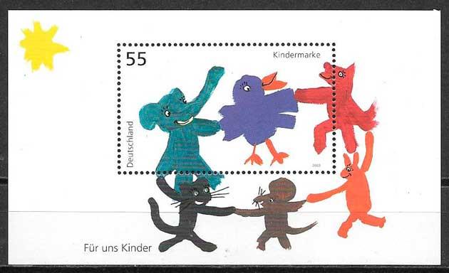 sellos temas varios Alemania 2003