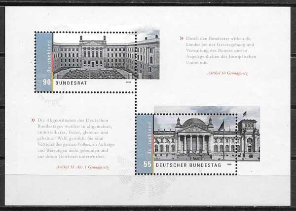 sellos arquitectura Alemania 2009