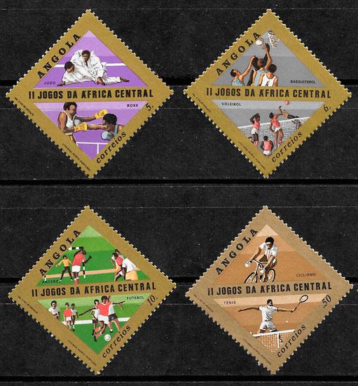sellos deporte Angola 1981