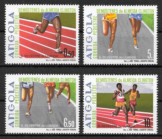 sellos deporte Angola 1985