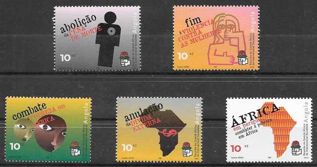 sellos congreso Angola 2002