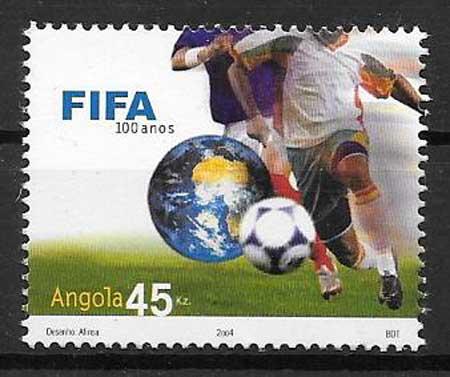 Filatelia deporte Angola 2004