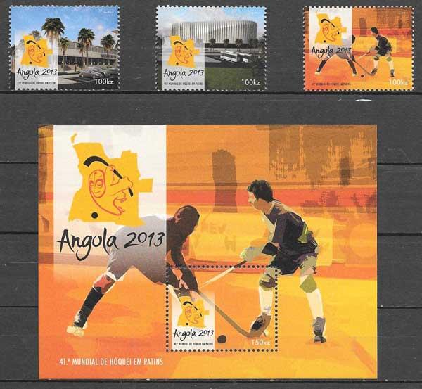 sello deporte Angola 2013