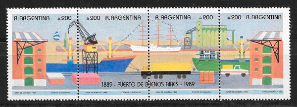 filatelia temas varios Argentina 1990