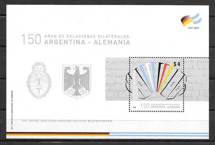 sellos temas varios Argentina 2007
