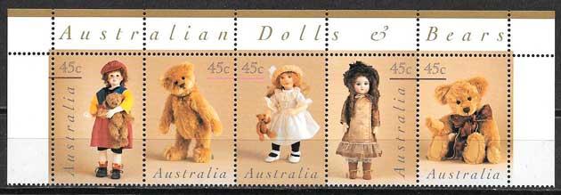 sellos varios temas Australia 1997