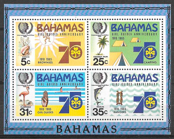 filatelia temas varios Bahamas 1985