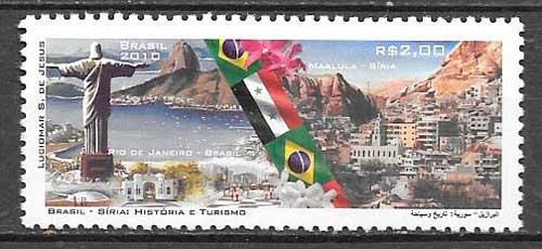 selos temas varios Brasil 2010