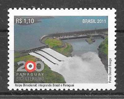 sellos temas varios Brasil 2011