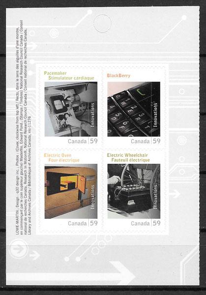 sellos temas varios Canada 2011