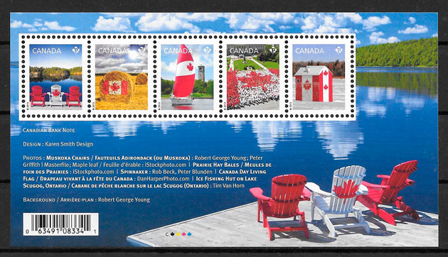 filatelia temas varios Canada 2013