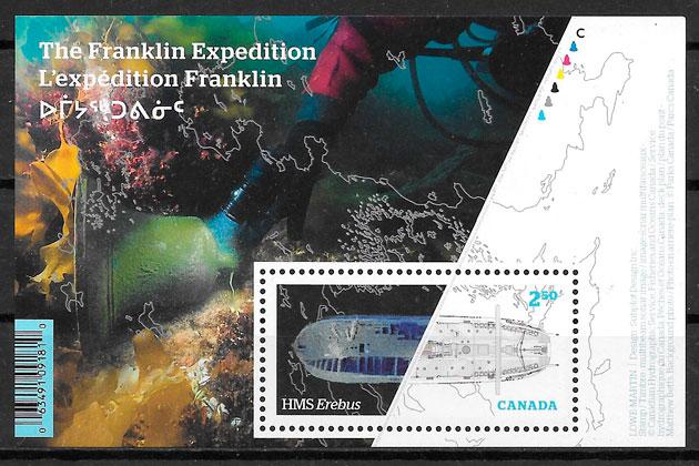 sellos temas varios Canada 2015