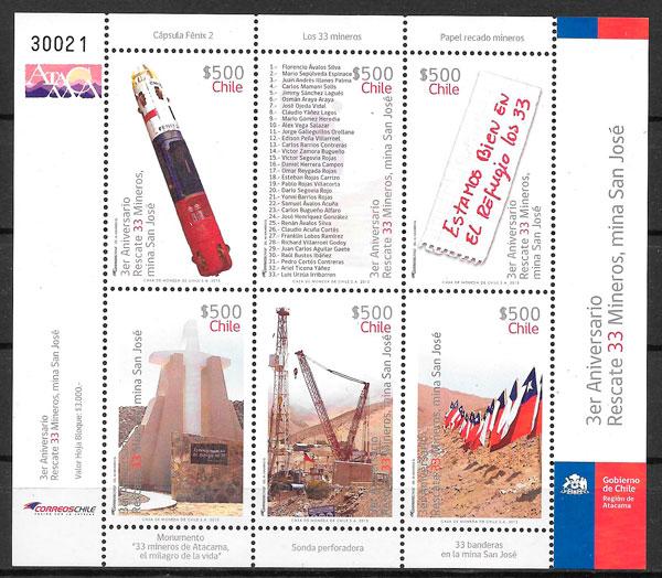 sellos temas varios Chile 2013